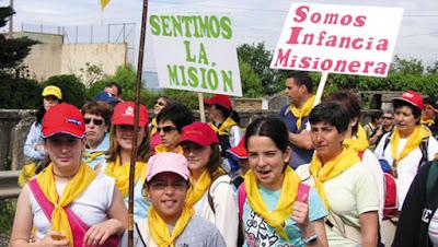 Niños de la Infancia Misionera de España