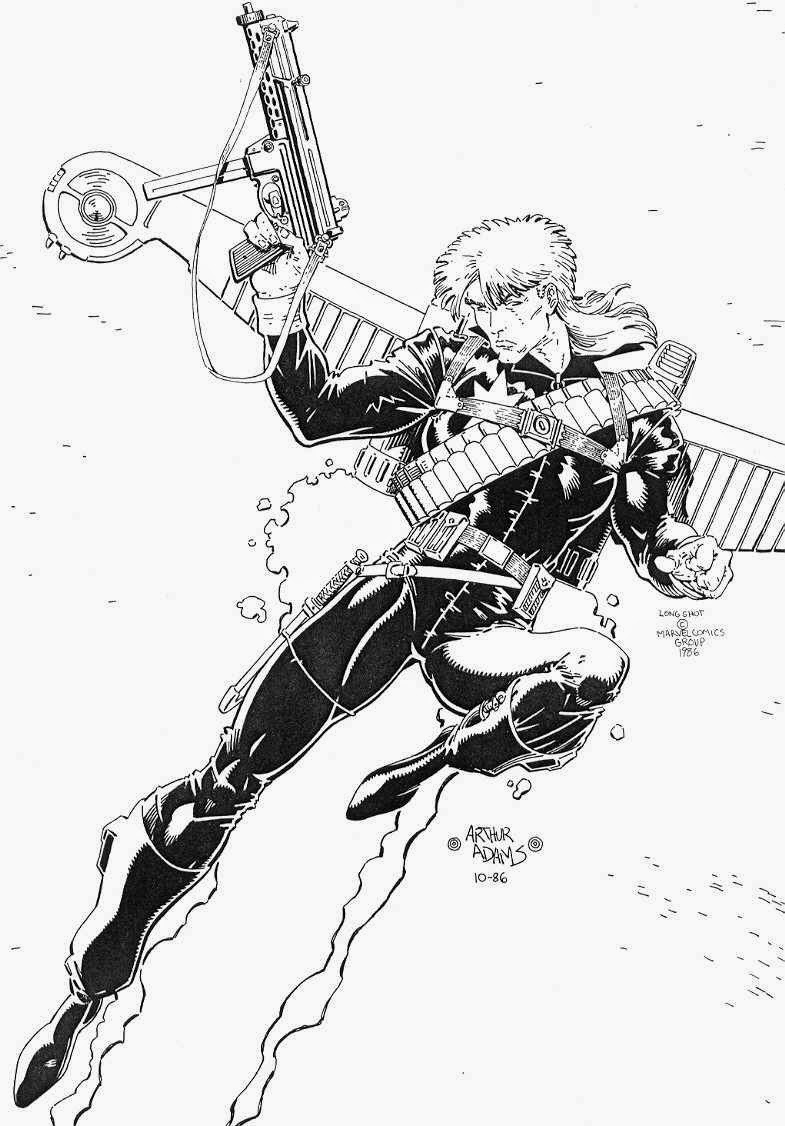 HQ - Longshot - Marvel Comics