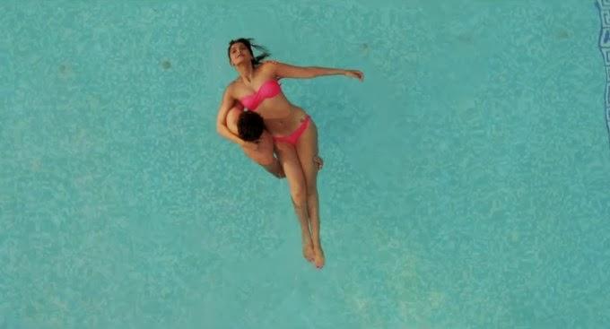 Sonam Kapoor and Ayushmann Khurrana in pool pink bikini of sonam tattoo private exposed