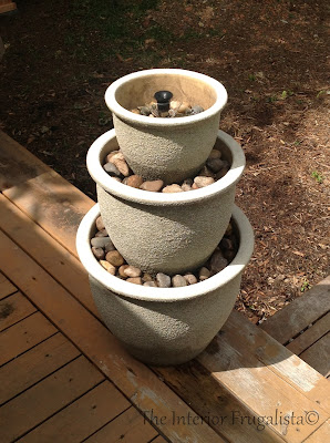Plant Pot Water Fountain