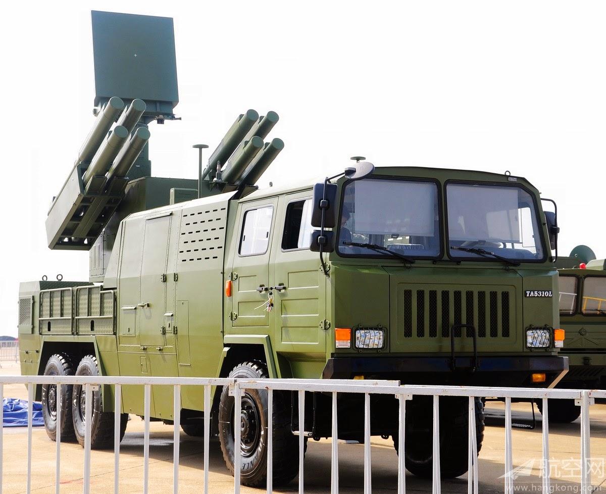 Sistema CHINÊS FB-10: Defesa AA de curto alcance (Short Range Air Defense Missile System)