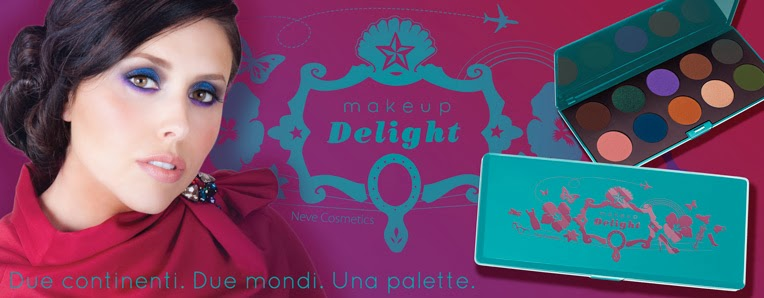 Neve Cosmetics - Palette Makeup Delight  dal 26/11/2013 (ed. limitata)