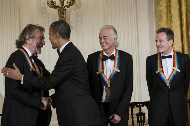Led Zeppelin é homenageado por Barack Obama na Casa Branca