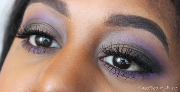 picture of purple cut crease