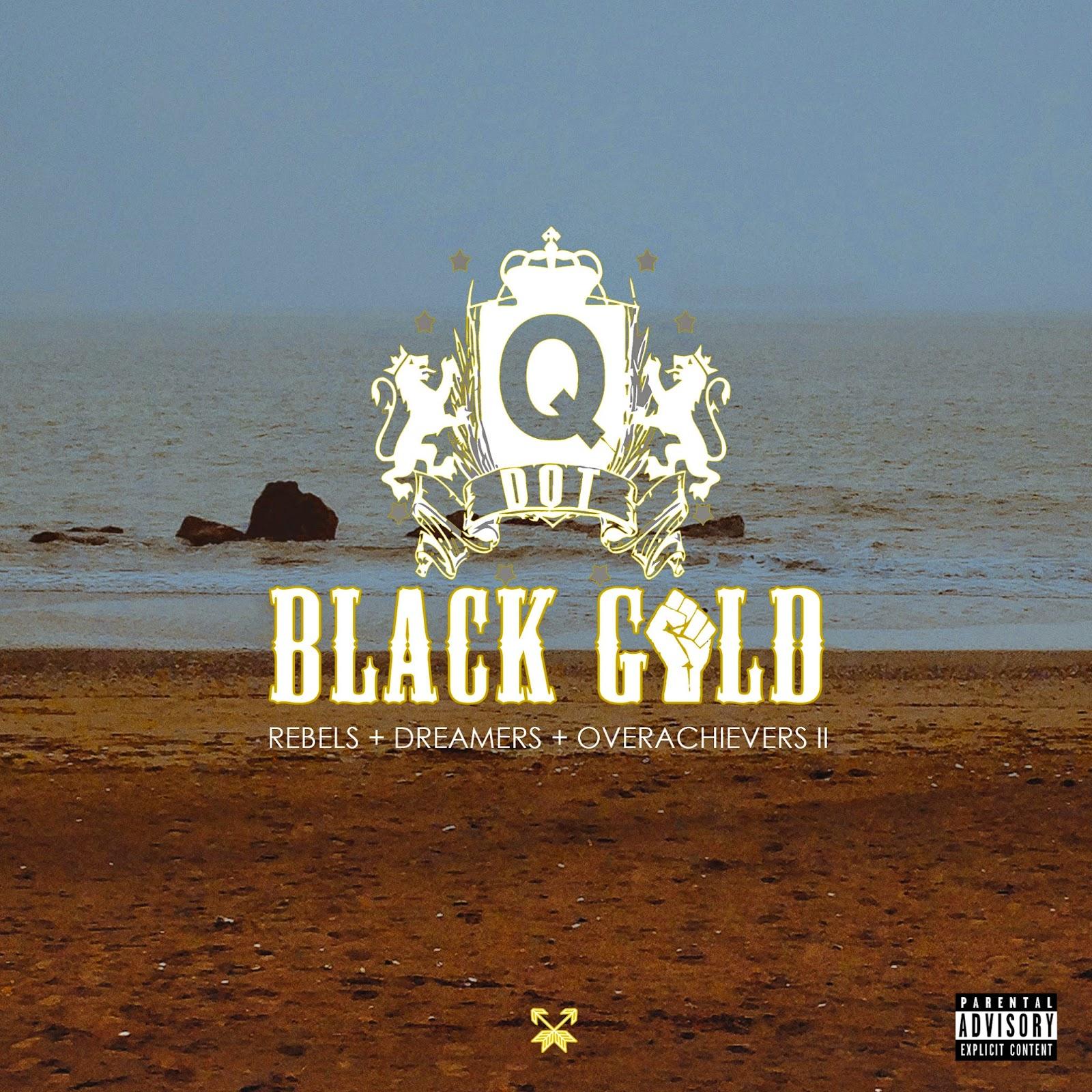 Q Dot Black Gold