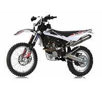 Husqvarna TE250R With Racing Kit (2013) Front Side