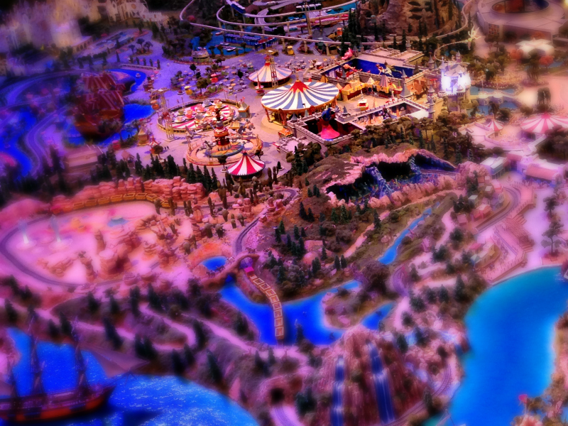 Disneyland Model - Animate Your Night at The Walt Disney Family Museum | www.anyhappylittlethoughts.com