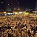 بالفيديو.. حشود هائلة تزحف من ميدان النهضة إلى ميدان الجيزة تنديدًا بالانقلاب العسكري