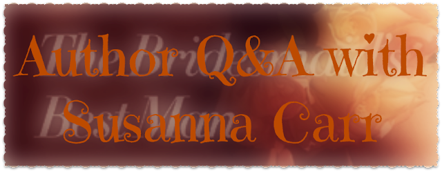 Author Q&A + Giveaway – The Bridesmaid's Best Man by Susanna Carr