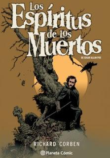 """Portada del cómic """"Los Espíritus de los Muertos"""", de Richard Corben"""