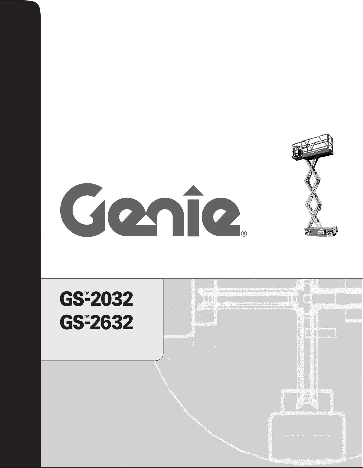 Genie scissor lift operators manual