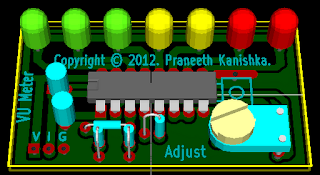 AN6877 VU Meter circuit