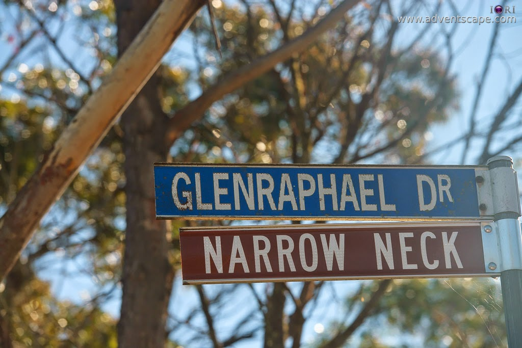 2780, Australia, Australian Landscape Photographer, blogger, Blue Mountain, bushwalk, Castle Head, gate, Glenraphael, Katoomba, lookout, Narrow Neck, New South Wales, NSW, Philip Avellana, street sign