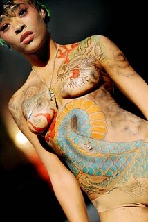 Sports Illustrated Body Paint Issue