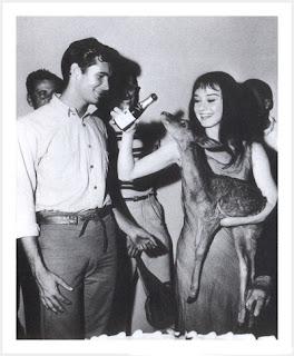Las desmadradas fiestas de Anthony Perkins y Audrey Hepburn
