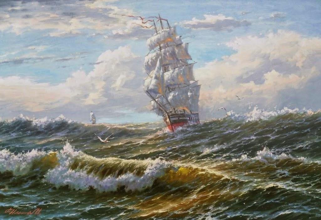 cuadros-de-marinas-con-barcos