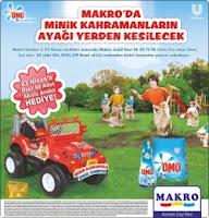 Makro Market - Makro Market Omo Akülü Araba Çekiliş Kampanyası