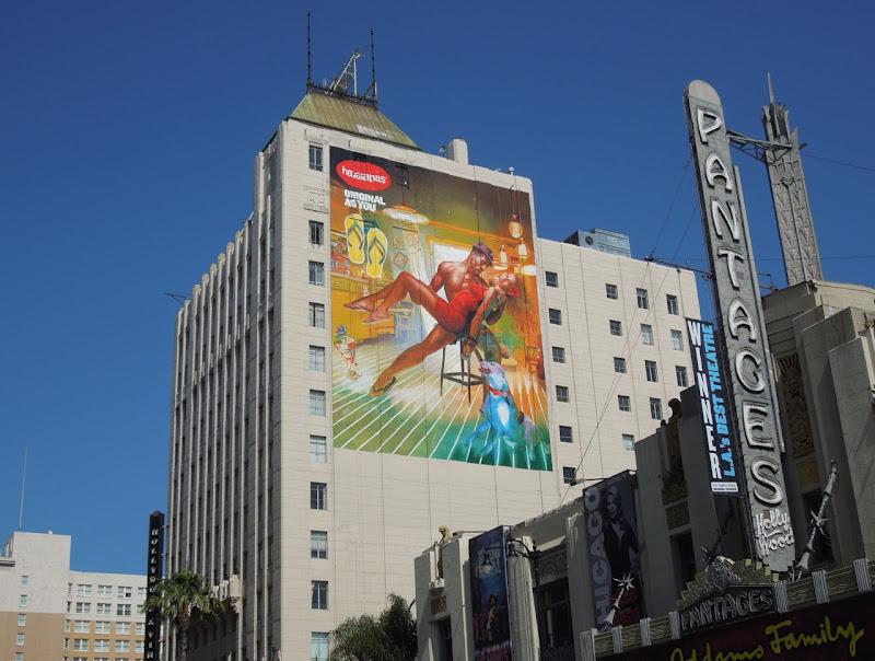 Havaianas flipflop billboard