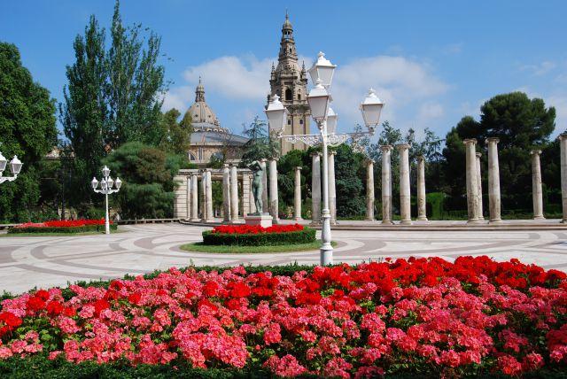 Viajar a barcelona jardines de joan maragall for Jardines joan maragall