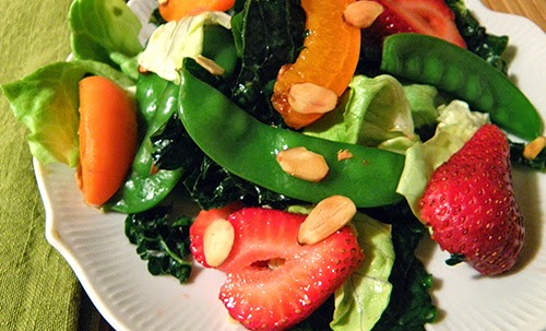 Closeup of Salad on Plate