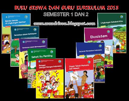 buku kurikulum 2013 sd lengkap rpp kurikulum pendidikan dasar 2013