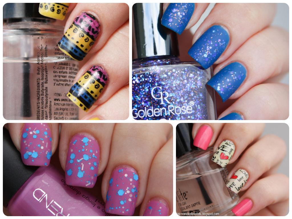 decoración de uñas con esmaltes avon colortrend
