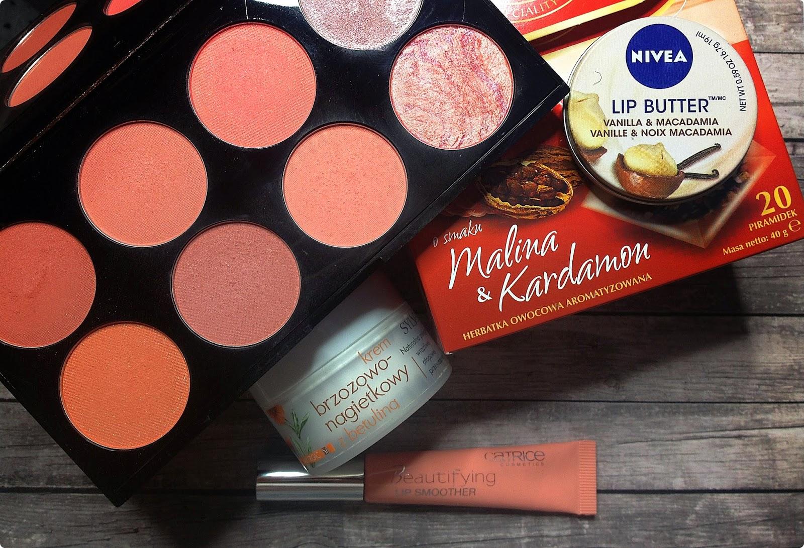 Ulubieńcy lutego: Catrice, Nivea, Makeup Revlolution, Sylveco i herbata z Biedronki!