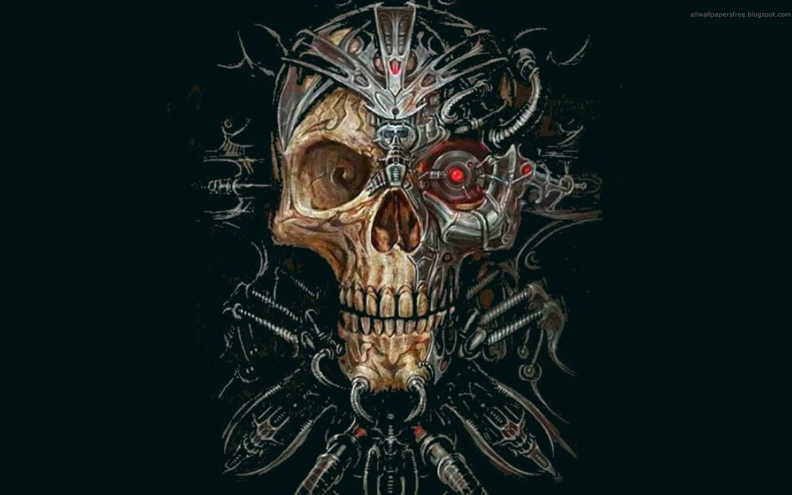zombie skull wallpapers for desktop - photo #28