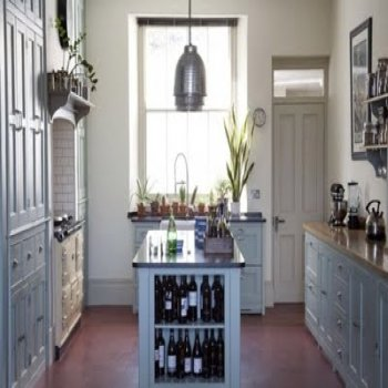 Modern victorian style kitchen design and ideas modern for Small victorian kitchen designs