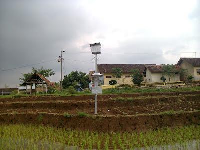 Lampu Perangkap(Light trap) di Desa Siberuk Kecamatan Tulis