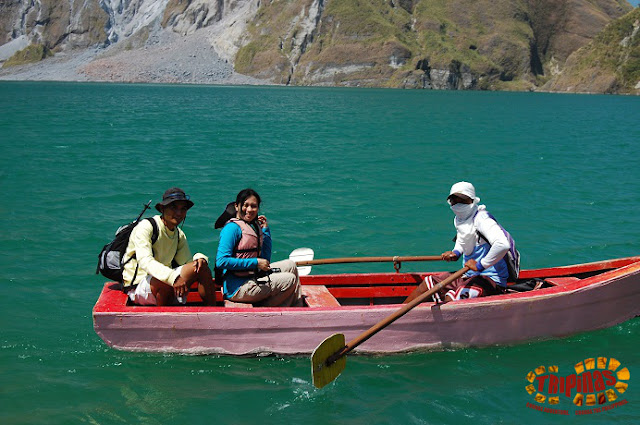 Mt, Pinatubo boat ride