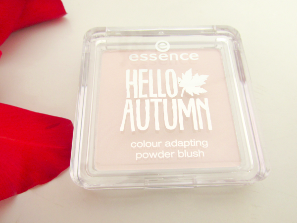 essence Hello Autumn Colour Adapting Powder Blush 01 Beauti-Fall Red  review