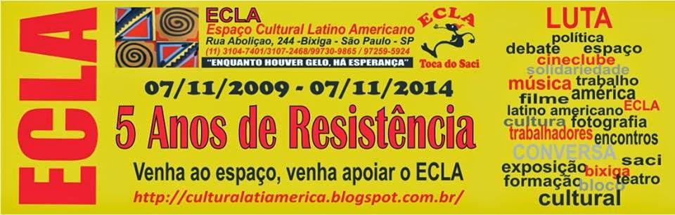 .ECLA-ESPAÇO CULTURAL LATINO AMERICANO