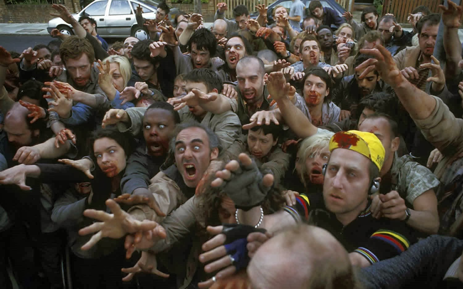 Shaun of the Dead, zombies,zombie movie