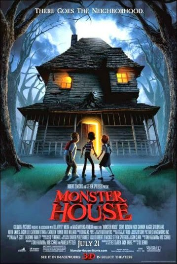 Portada película Monster House