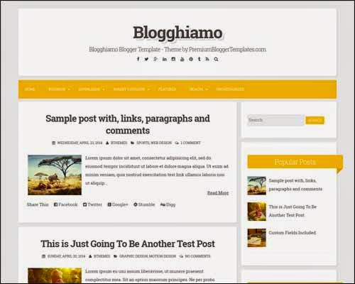 Blogghiamo Template Blogger Gratis