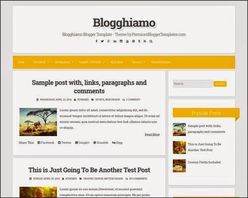 Blogghiamo Template Blogger Gratis
