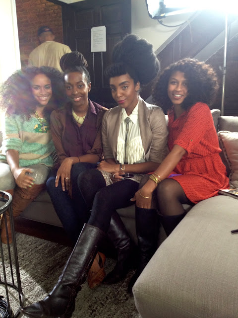 heye fran hey, chescaleigh, Cipriana, Shanti, natural hair, bloggers, carol's daughter