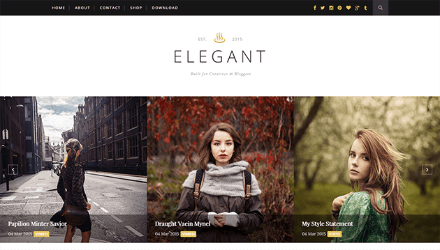 Elagant Blogger Template
