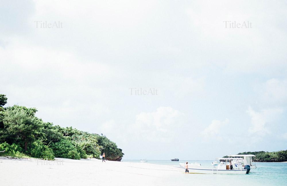 日本とは思えないような川平湾の写真