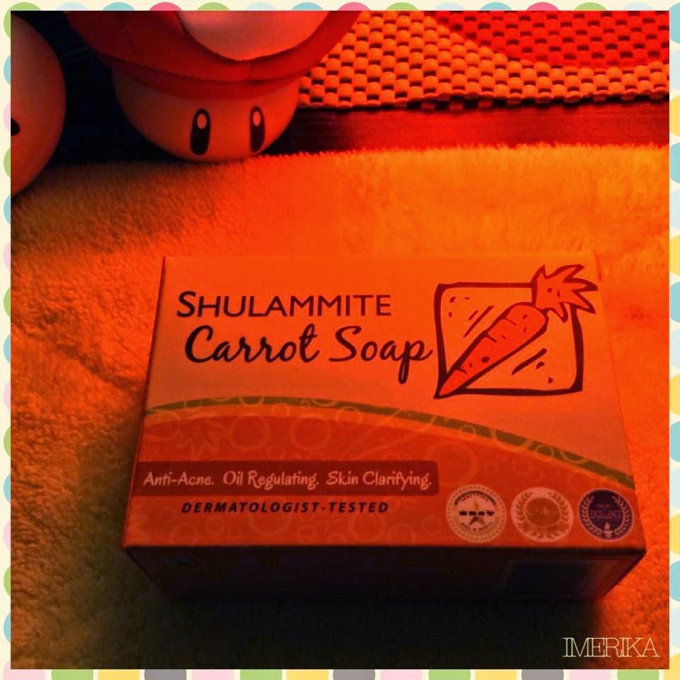 Shulammite carrot soap female network celebrity