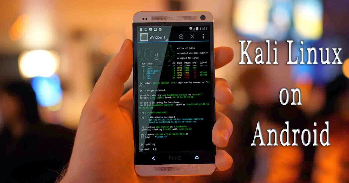 How To Install Kali Linux On Android Tutorial With