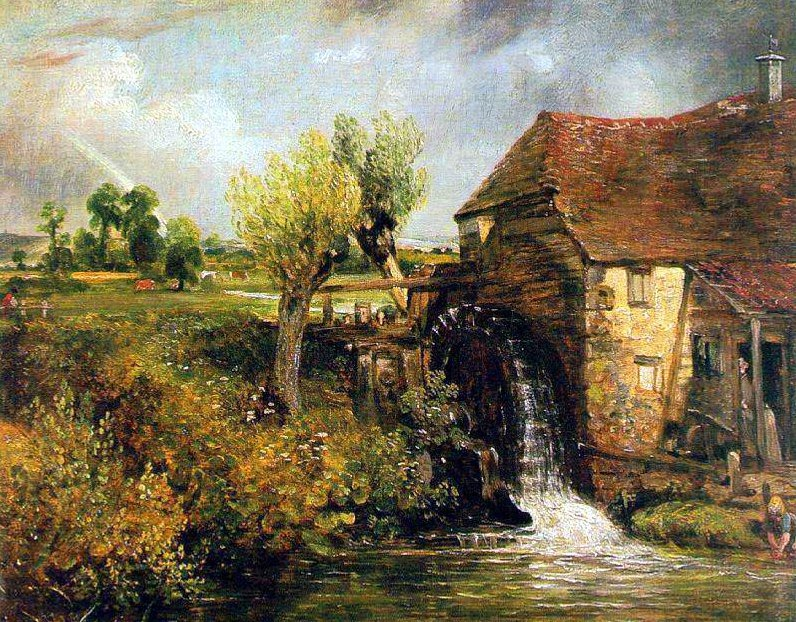 Paisaje inglés por Constable