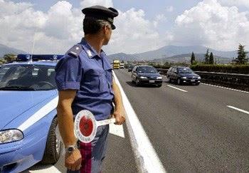 Verkehrspolizei im Einsatz