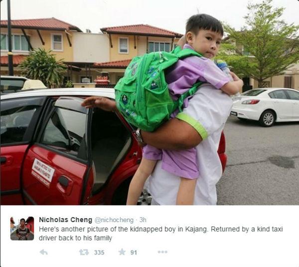 Budak Mangsa Culik Di Kajang Akhirnya Di Jumpai & Di Serah Kepada Keluarga