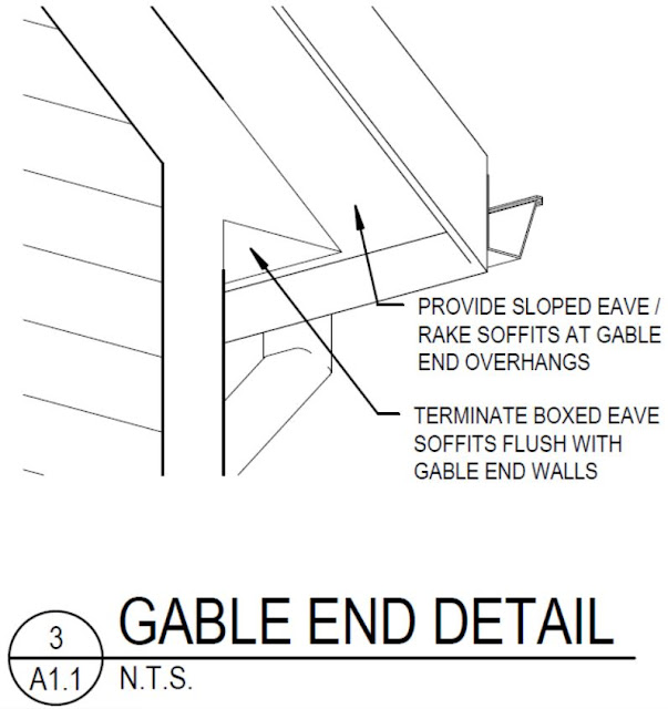 how to install vinyl soffit on gable end