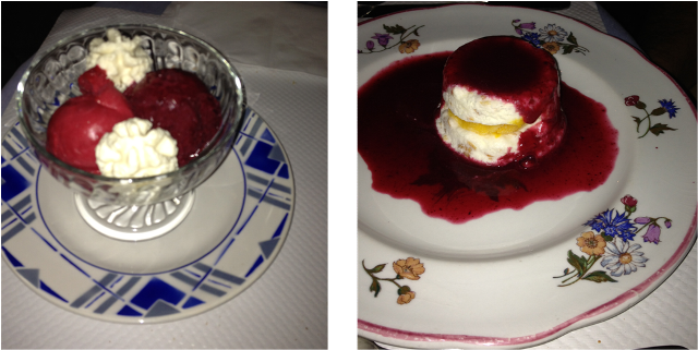 image desserts La Corniche à Saint Antonin Noble Val