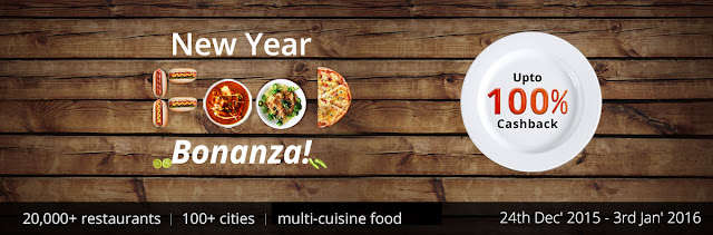 paytm food bonanza new year offer