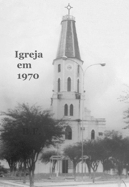 IGREJA DE ITAPETIM EM 1970
