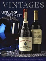 LCBO Wine Picks from November 22, 2014 VINTAGES Release